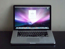 "☛APPLE✪15""✪MACBOOK✪PRO✪UNIBODY☆COMPUTER☆2.53GHz☆SILVER☆LAPTOP☆ALUMINUM☆WARRANTY"