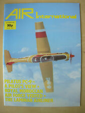 AIR INTERNATIONAL MAGAZINE NOVEMBER 1985 PILATUS PC-9 TURBOPROP TRAINER