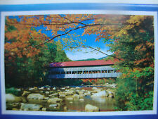 """RED ROOFED COVERED BRIDGE"", 500 pieces, Jigsaw Puzzle, Beautiful, Challenge,NEW"