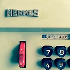 Machine à calculer Hermès Precisa 109-7 Vintage Hermes Adding Machine  an 50 60