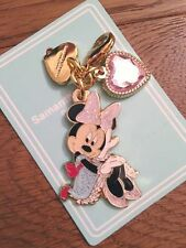 Samantha Thavasa Petit Choice D23 Japan Disney Minnie Mouse Bag Charm Kawaii