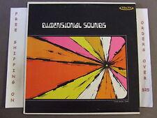DIMENSIONAL SOUNDS NILES TOWNSHIP HIGH SCHOOL LP 1968 EARLE AUGE DR489