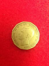 Great Britain 1943-3 Pence Coin