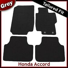 Honda Accord Mk7 2002-2008 Fully Tailored Carpet Car Floor Mats GREY
