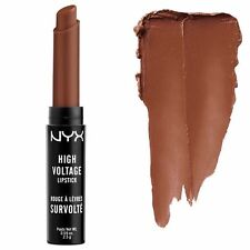 NYX Cosmetics High Voltage Lipstick, Dirty Talk (Rich Brown) Buy 3, Get 1 Free!