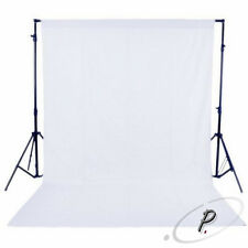 2x3m NON WOVEN WHITE STUDIO BACKDROP PHOTOGRAPHY BACKGROUND