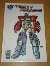 TRANSFORMERS #9 IDW PUBLISHING VARIANT RI DON FIGUROA COVER