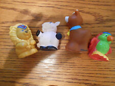 LOT OF FOUR Vintage Fisher Price Animals