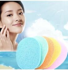 2 Pcs Soft Sponge Foundation Beauty Make Up Facial Face Washing Cleansing Puff