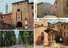 Cartolina - Postcard - Saluti da - Savignano sul Panaro - vedutine - Pozzo -1984