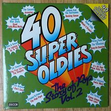 VARIOUS ARTISTS 40 Super Oldies - The Story Of Pop Vol. 2 2-LP/GER/FOC