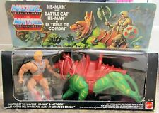 Masters of the universe He-Man and Battle Cat THE ORIGINAL 1981-1983. Sealed!
