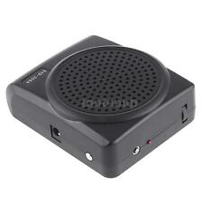New Mini 8 Portable Multi Voice Changer Microphone Megaphone Loudspeaker Black