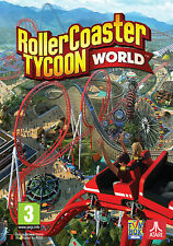 RollerCoaster Tycoon World (PC Game) - BRAND NEW & SEALED - BOXED VERSION