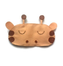 Cute Giraffe Fun Funny Sweet Gift Adult Kids Zoo Animal Sleep Eye Mask