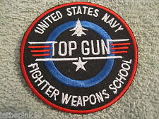 US Navy Fighter Weapon School Top Gun Patch Naval Fighter School Tom Cat Patch