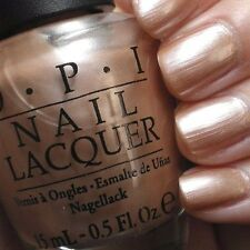 OPI Cosmo-Not Tonight Honey! Pale Gold Nude Shimmer Nail Polish Lacquer .05z R58