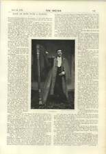1894 Interview With Harpist Ap Shencyn Mashed By A Mermaid