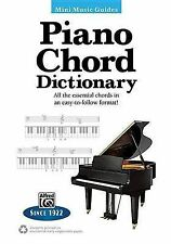 Mini Music Guides -- Piano Chord Dictionary: All the Essential Chords in an...