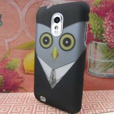 Samsung Galaxy S II 2 S2 Epic Touch 4G D710 Hard Case Phone Cover Owl Black Suit