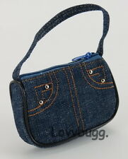 """Dark Denim Purse Bag for 18"""" American Girl Doll Clothes  Widest Selection!"""
