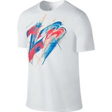 Nike Air Jordan VIII Work of Art 8 White Infrared Copa T-Shirt Sz 4XL 706845-100