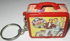 Happy Days TV Show Lunch Box Keychain with Thermos & Toy Snack Fonzie