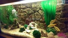 AQUARIUM BACKGROUND 3D THIN BEIGE  FOR 55/75g TANK SIZE: 48x21 - EASY TO INSTALL