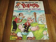 Abenteuer von POPEYE   # 13 -- Popeye und die 1000 Popis / Ehapa 1. Auflage 1981