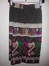 VTG Boho Ethnic Hippie pencil  Skirt sz xsm
