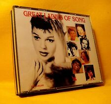 CD Reader's Digest Great Ladies of Song 80TR 1995 (4XCD) Pop Jazz Soul Blues