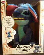 New Disney Lilo & Stitch DOLL Interactive Plush Stuffed Alien Toy