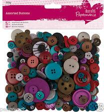 Papermania Capsule colección 250 gram choque botón bolsa botones surtidos Joyas