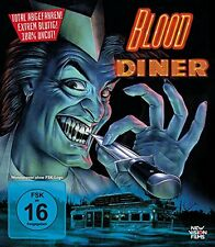 Blood Diner Rick Burks, Carl Crew, Jackie Kong NEW DVD