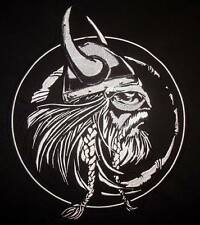 large biker patch - VIKING - motorcycle back patch