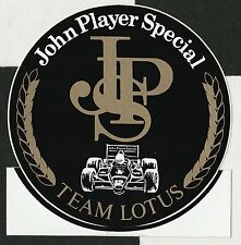 JOHN PLAYER SPECIAL JPS F1 TEAM LOTUS 98T 1986 SENNA ORIGINAL STICKER ADESIVO