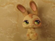 Littlest Pet Shop ULTRA RARE Magic Motion Brown Cream Bunny Moving Eyes LPS