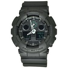 Casio G-Shock GA100MB-1A Black GA100 Series Large Case Analog / Digital Watch