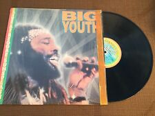 BIG YOUTH: Live At Reggae Sunsplash LP