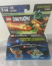 LEGO Dimensions Chima Fun Pack 71223 Cragger Swamp Skimmer New Sealed!