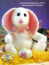 PRECIOUS Baby Bunny/Toy/ Crochet Pattern Instructions ONLY