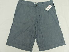 $58 NWT NEW Mens Ecko Unltd Highline Shorts Striped Blue Urban Size 32 K712