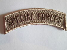 SPECIAL FORCES Embroidered  Iron - On Patch P083