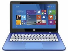 "HP Stream 11-P091NR 11.6"" Touch Laptop Intel Celeron N2840 2.16GHz 2GB 32GB W8.1"