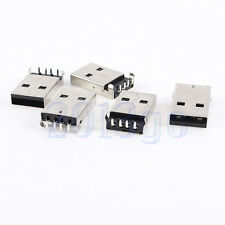 10pcs Type A USB à 4 broches Socket court Connecteur mâle PCB Socket HG