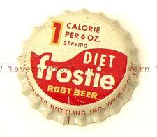 Unused 1960s Diet Frostie Root Beer Cork Crown Tavern Trove