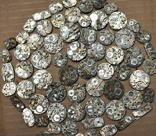 10 Mechanical Wrist Watch Movements 7-24 Jewels Steampunk Parts Repairs