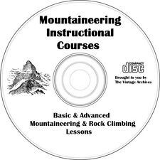Mountaineering & Rock Climbing Instructional Courses on CD