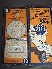 carte michelin 61 paris chaumont 1935