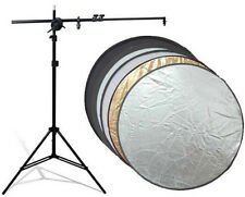 "1Pcs Duplex 110cm 43"" 2-in-1 Collapsible disc Reflector set for Photography"
